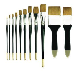 Pro Arte Prolene One Stroke Flat Brushes Series 106