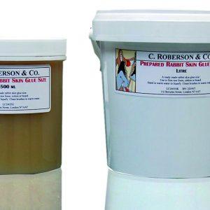 C Roberson and Co. Prepared Rabbit Skin Glue