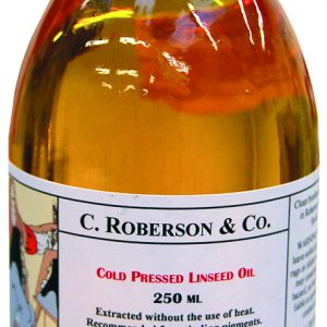 C Roberson's and Co Cold Pressed Linseed Oil